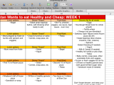 Making a Meal Plan, Part1