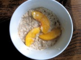 Do It Yourself Peaches n' Cream Oatmeal