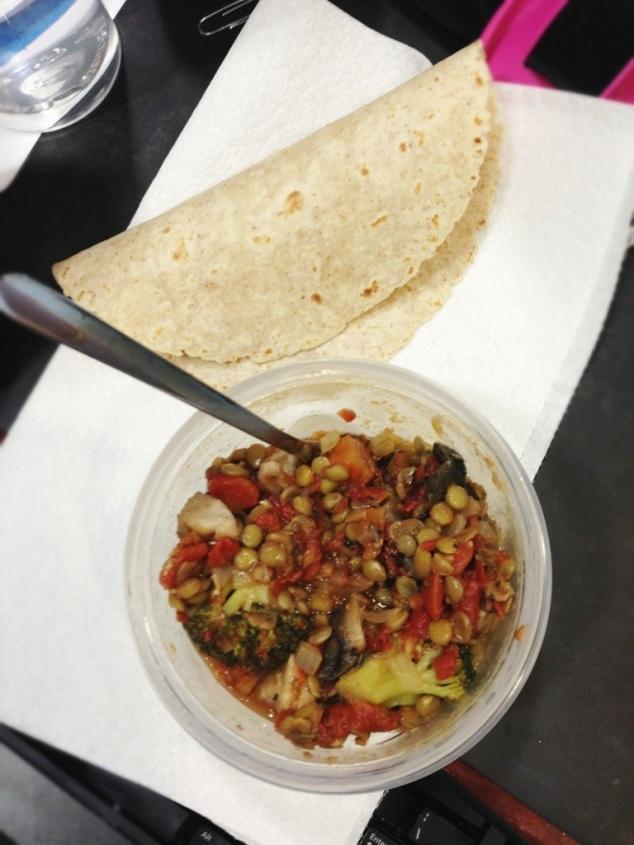 leftover lentil stew