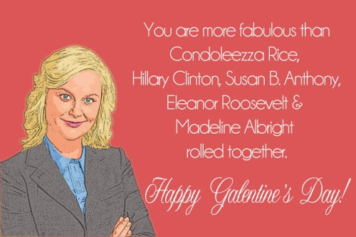 Galentine's Day card
