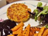 Meatless Monday: Chickpea & Red Pepper Veggie Burgers