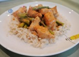 Chicken with Spicy Peanut Sauce