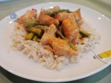 Chicken with Spicy PeanutSauce