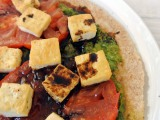 "Meatless Monday: Vegan ""Caprese"" Pizza"