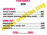Healthy Grocery Shopping on a Budget – January Checkin!